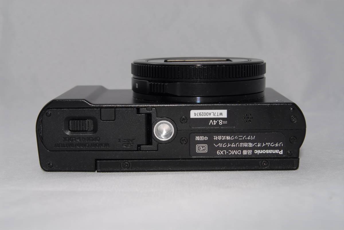 ★美品★Panasonic Lumix DMC-LX9 コンパクトデジタルカメラ 高画質 4K動画 WiFi LEICAレンズ フォーカス合成機能搭載_画像5