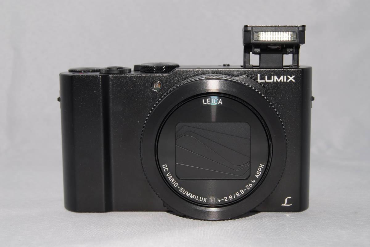 ★美品★Panasonic Lumix DMC-LX9 コンパクトデジタルカメラ 高画質 4K動画 WiFi LEICAレンズ フォーカス合成機能搭載_画像4