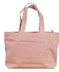 ミケネコのA4サイズが入るファスナー付きトートバッグ《ピンク》_画像2