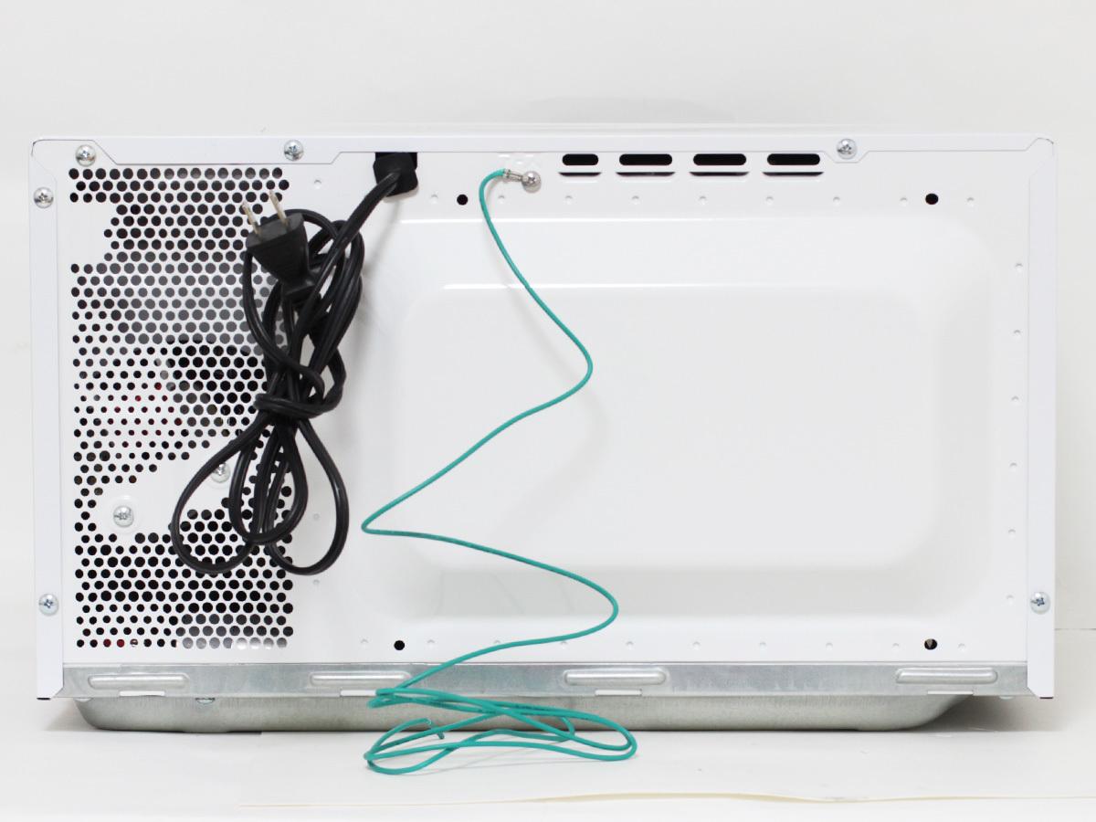 【1円出品】美品 SHARP シャープ 17年製 電子レンジ RE-TS3-W5 東日本専用 50Hz ホワイト 中古※動作確認済み 直接引き渡しOK_画像3