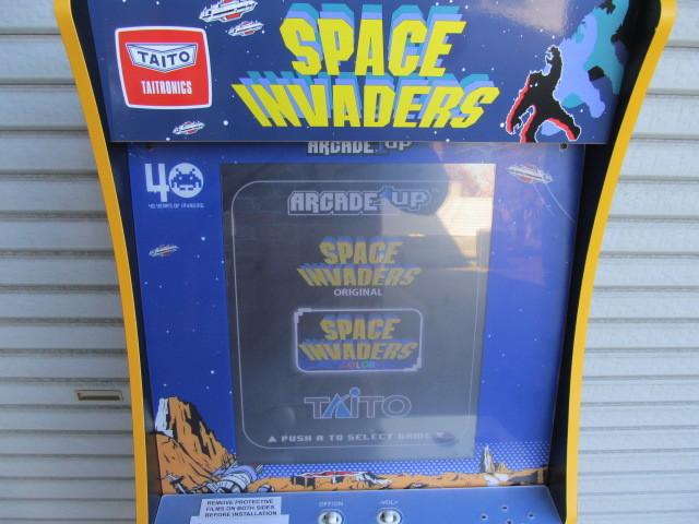 ■スペースインベーダー/ゲーム機/タイトー/Arcade1Up/SPACE INVADERS/日本仕様電源版/中古品■  _画像5