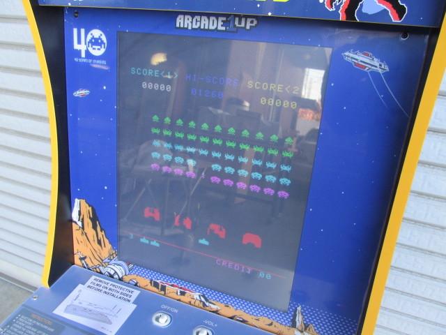 ■スペースインベーダー/ゲーム機/タイトー/Arcade1Up/SPACE INVADERS/日本仕様電源版/中古品■  _画像6