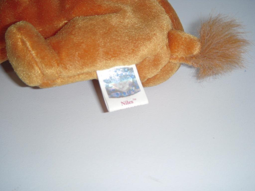 即決☆Ty BEANIE BABIES「Niles ラクダ」ぬいぐるみ☆ビーニーベイビー ビーニーズ BABIE【誕生日:2000年2月1日】 BD013_画像4