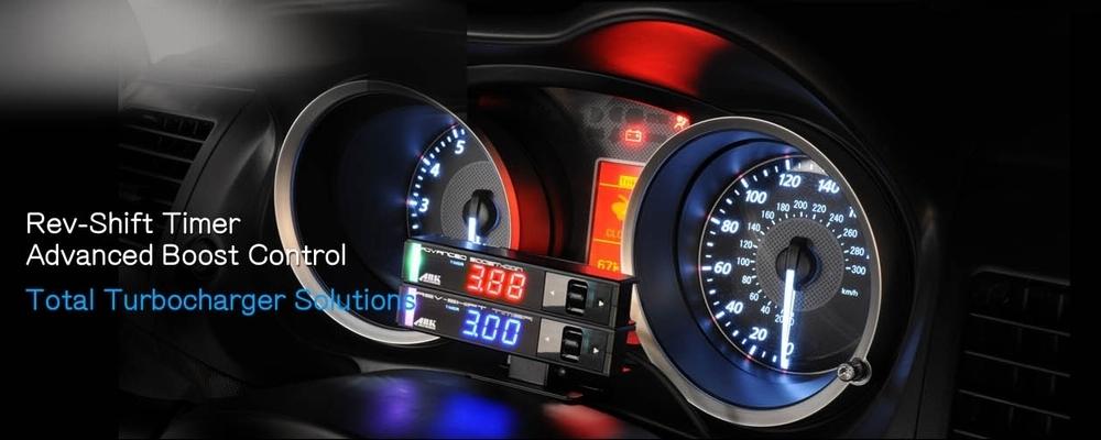 日本製 ブーストコントローラー ARK-DESIGN ABC 赤LED文字 ADVANCED BOOSTCONTROLLER ブーコン made in japan EVC SBC VVC AVC_画像6
