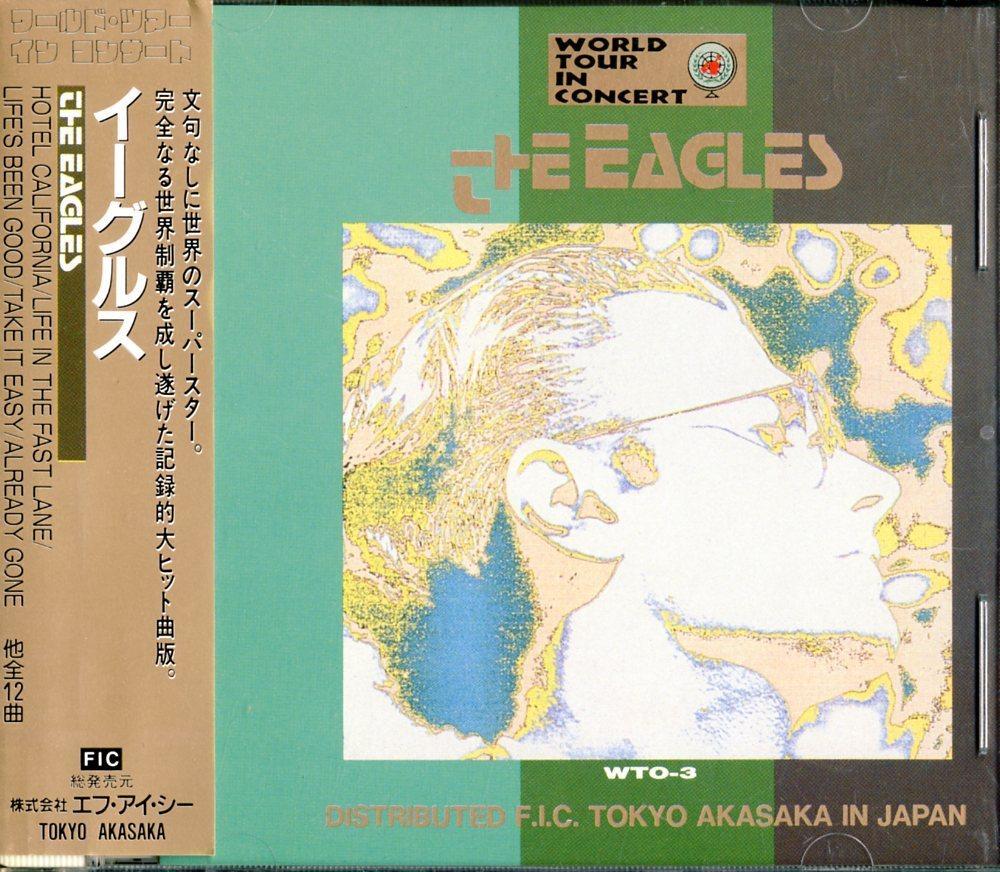 CD☆イーグルス / EAGLES / ワールド・ツアー・イン・コンサート / World Tour In Concert / WTO-3_2522-111