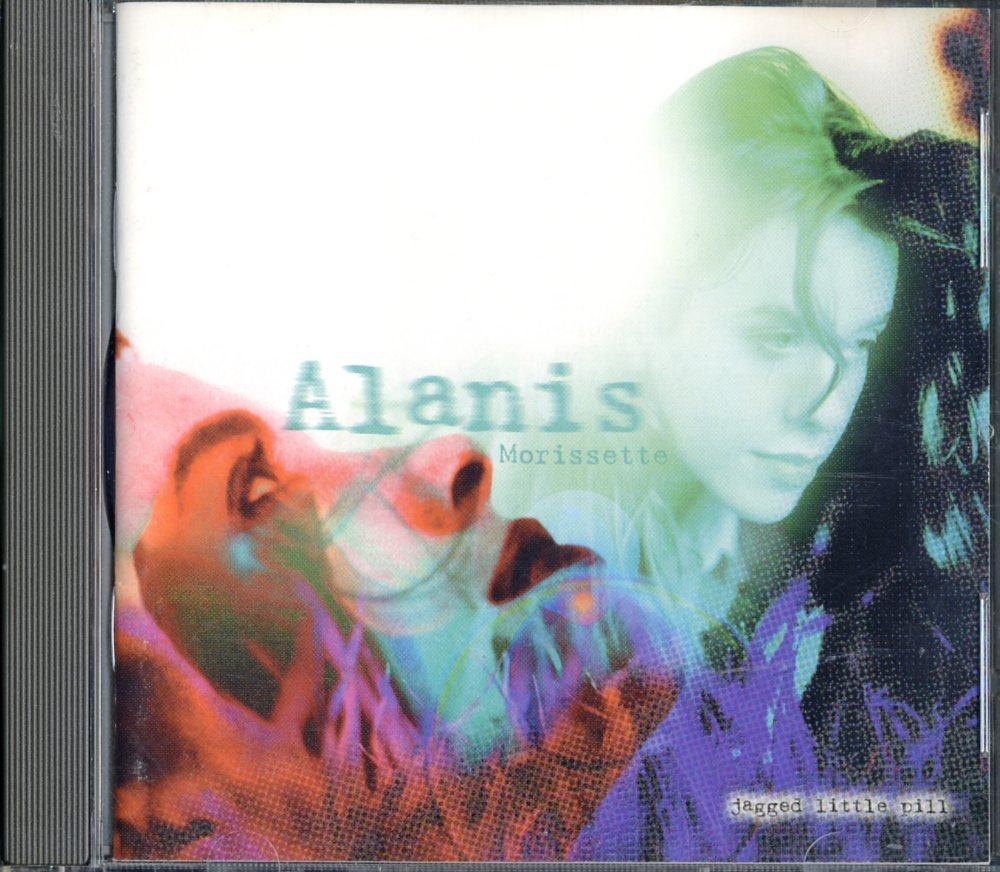 CD☆Alanis Morissette / Jagged Little Pill / 9 45901-2_2522-106
