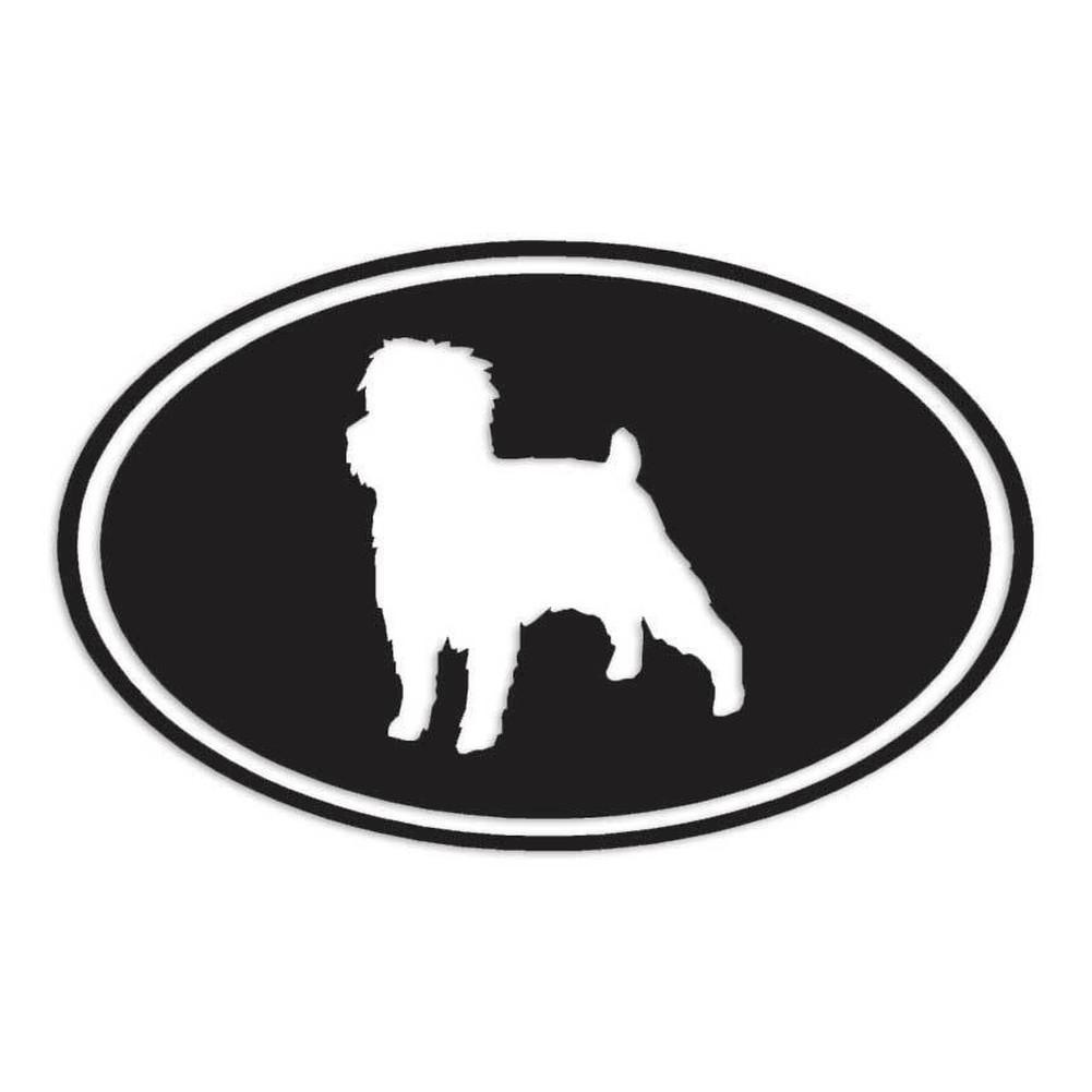 海外限定 新品 アーフェンピンシャー 犬 15.2cm × 9.5cm 色カスタム可能 ステッカー_画像1