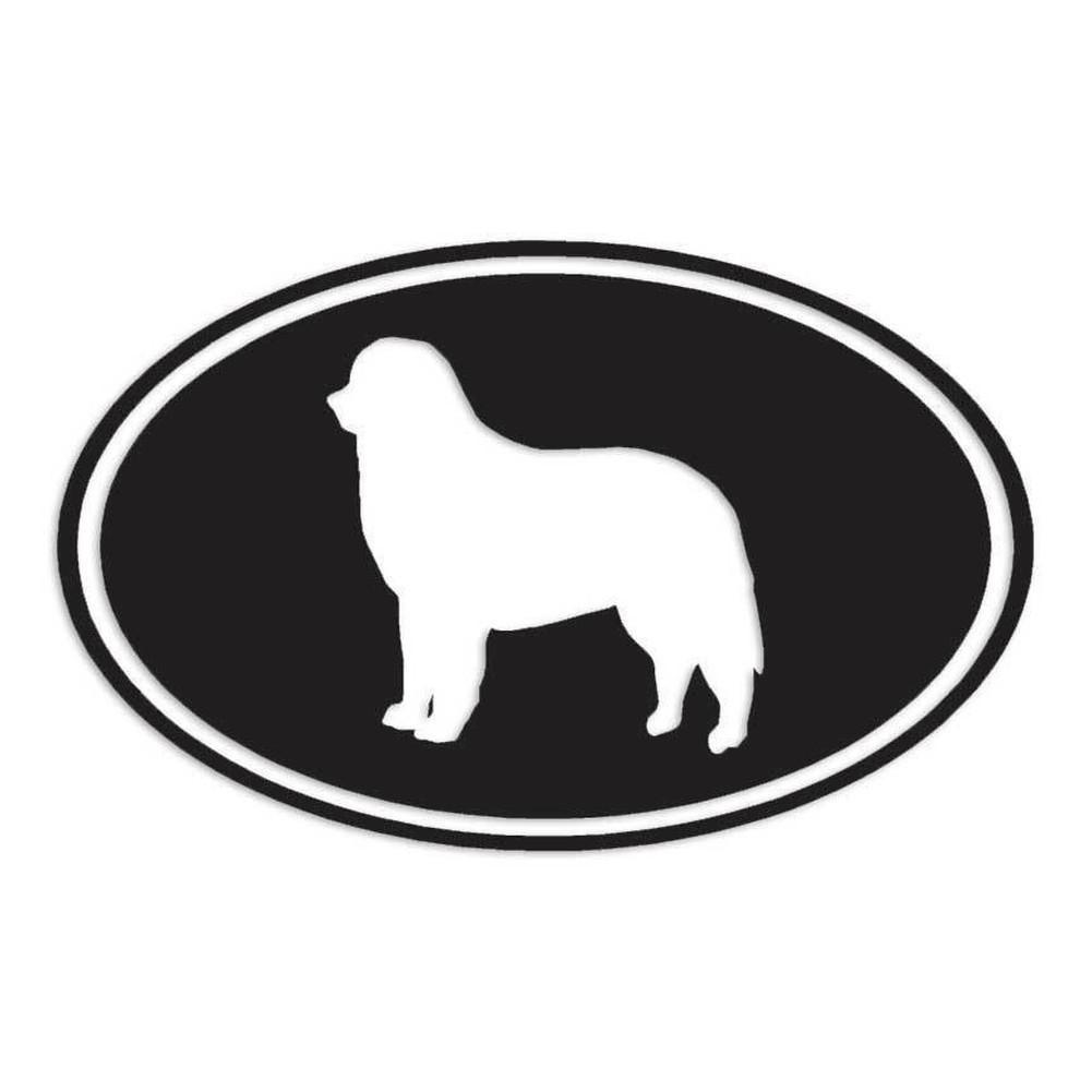 海外限定 新品 バーニーズ マウンテン ドッグ 犬 15.2cm × 9.5cm 色カスタム可能 ステッカー_画像1