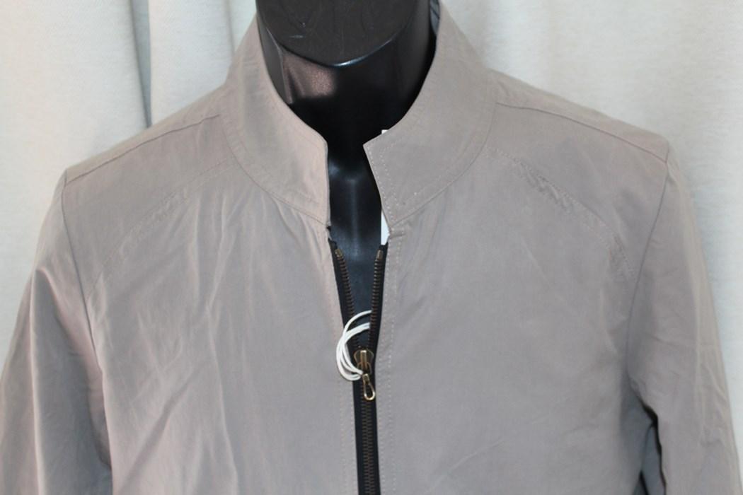 エイチワイエム hym メンズ ジップアップ ブルゾン サイズ46 日本製 新品 ジャケット ベージュ_画像3