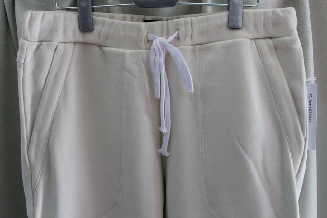 エイチワイエム hym メンズスウェットパンツ ホワイト Sサイズ 日本製 新品_画像2