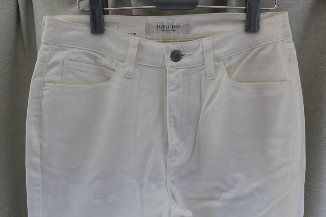 リーバイス Levi's レディースデニムパンツ ジーンズ Stylish Body ホワイト 29インチ F5553 アウトレット_画像2