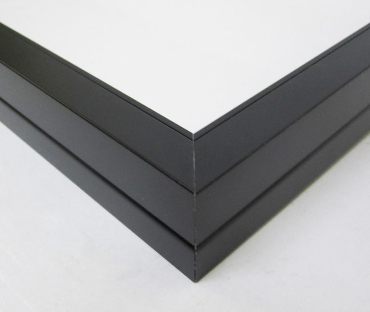 額縁 油絵額縁 油彩額縁 アルミフレーム SM 「プット26角」 ブラック_画像2