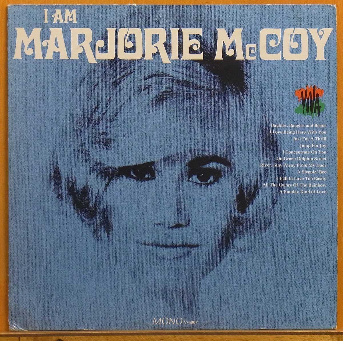 ◎レア!MONO!表綺麗!ほぼ美盤!★Marjorie McCoy「I Am Marjorie McCoy」USオリジLP #55978_画像1