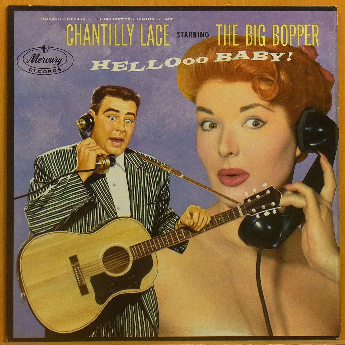 ◆激レア!美品!MONO!★The Big Bopper「Chantilly Lace」USオリジLP #55299_画像1