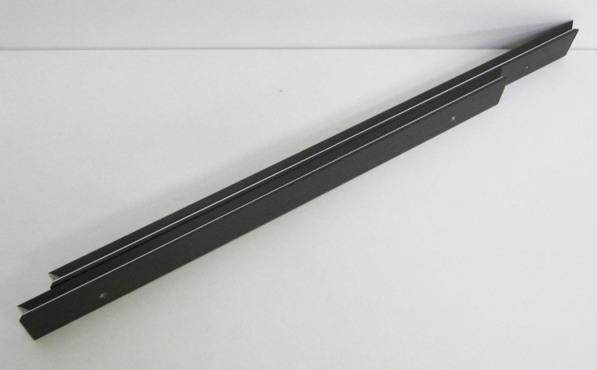 仮額縁 オーダーフレーム オーダーメイド額縁 油絵用額縁 「アフィックスSTD」 ウッドブラック 組寸サイズ500_画像3