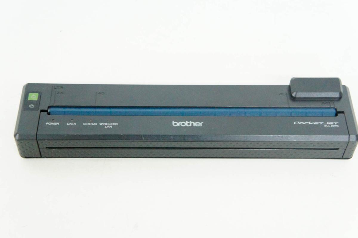 8 Brother ブラザー モバイルプリンター PJ-673 感熱紙 A4_画像2