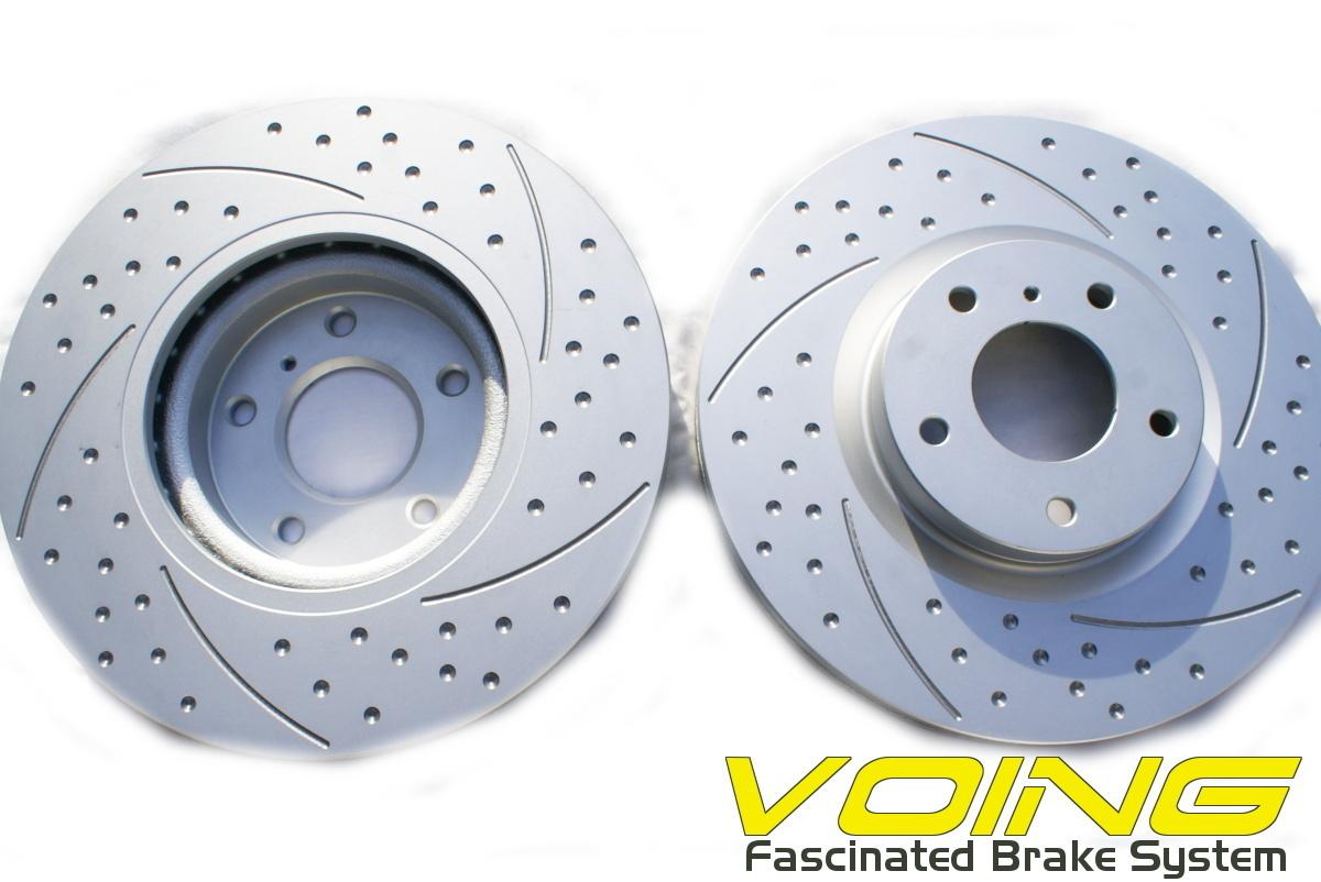 ニュービートル Rsi 9CAXJ V6 3.2 VOING C5SD カーブ スリット ブレーキ ローター ブレーキ ディスク フロント用_画像3