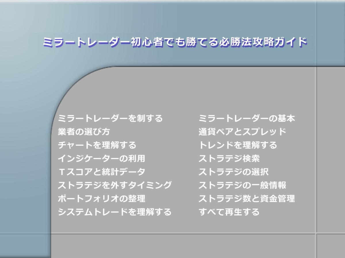 ミラートレーダー初心者でも勝てる必勝法攻略ガイド_画像5