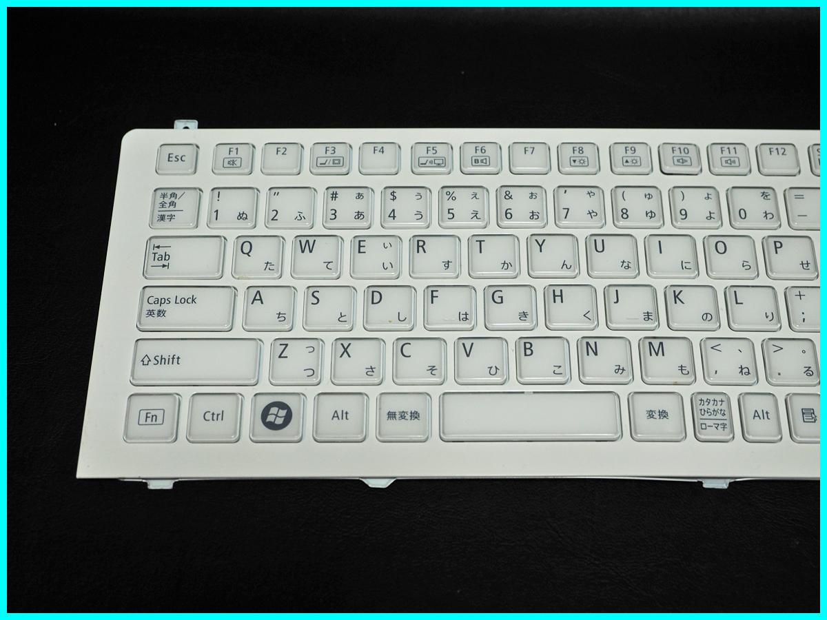 NEC LaVie L LL750/ES6W PC-LL750ES6W キーボード V119802IJ1 JA PK130J61A00 Rev:0A 動作未確認 ジャンク_画像2