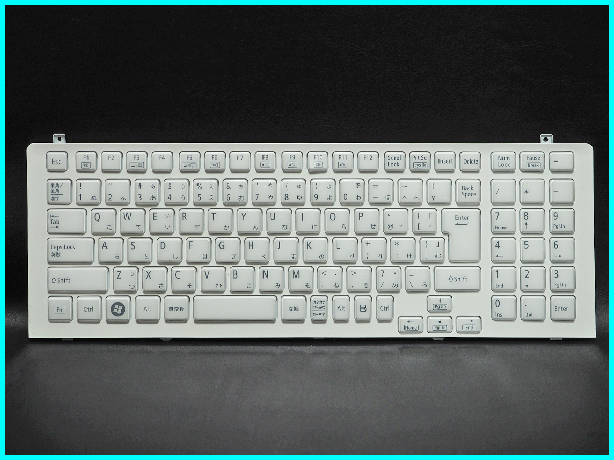NEC LaVie L LL750/ES6W PC-LL750ES6W キーボード V119802IJ1 JA PK130J61A00 Rev:0A 動作未確認 ジャンク_画像1