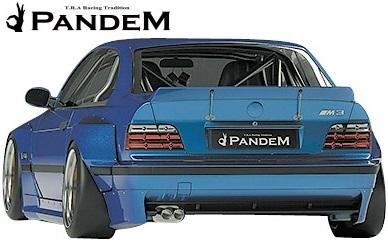 【M's】パンデム BMW E36 3シリーズ クーペ (1990y-2000y) PANDEM ワイドボディキット 3点 (FF+RF+S)//FRP製 TRA京都 エアロ_画像3