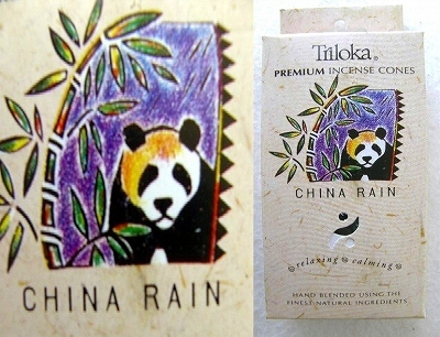 iTRC02全自然素材プレミアムコーンインセンスチャイナレインお香