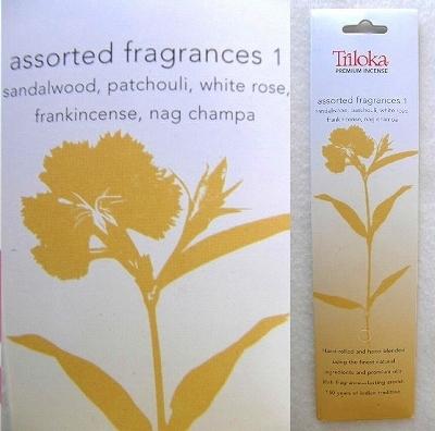 iTRP16全自然素材プレミアムインセンス 5種類アソート1 お香