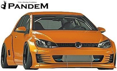 【M's】VW ゴルフ7 5G (2D) PANDEM ワイドボディキット 5点 (F+LS+FF+RF+W)//FRP パンデム エアロパーツ エアロキット ワイドフェンダー_画像1