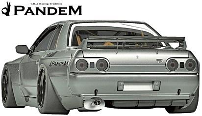 【M's】ニッサン R32 GT-R (1989y-1994y) PANDEM フロントフェンダー//FRP パンデム BNR32 スカイライン GTR ワイドフェンダー_画像5