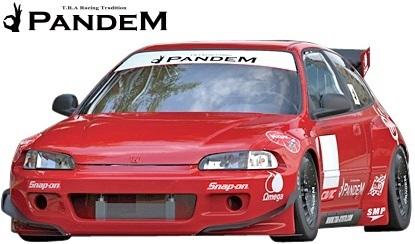 【M's】HONDA シビック EG (1991y-1995y) PANDEM フロントフェンダー (片側約:40mmワイド)/ホンダ CIVIC EG6 3ドア FRP TRA京都 パンデム_画像2