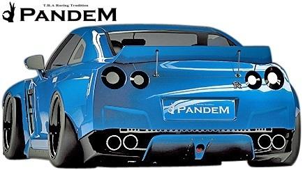 【M's】日産 R35 GT-R PANDEM ワイドボディキット 9P (ダックテールウイング仕様)/CARBON カーボン TRA京都 パンデム エアロ エアロキット_画像4