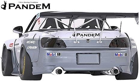 【M's】ホンダ S2000 AP1/AP2 (1999y-2009y) PANDEM リアフェンダー(片側約:75mmワイド)//FRP HONDA TRA京都 パンデム エアロ_画像3