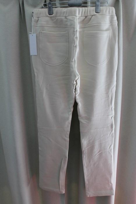 エイチワイエム hym メンズスウェットパンツ ホワイト Sサイズ 日本製 新品_画像3