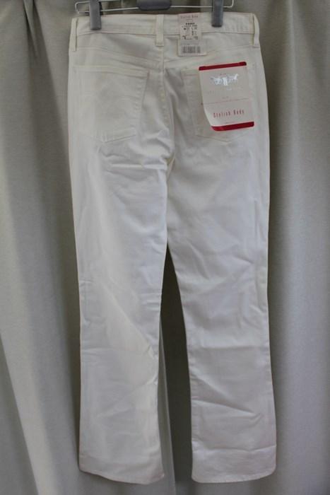 リーバイス Levi's レディースデニムパンツ ジーンズ Stylish Body ホワイト 29インチ F5553 アウトレット_画像4
