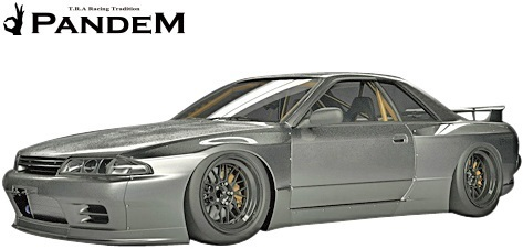 【M's】ニッサン R32 GT-R (1989y-1994y) PANDEM フロントフェンダー//FRP パンデム BNR32 スカイライン GTR ワイドフェンダー_画像1