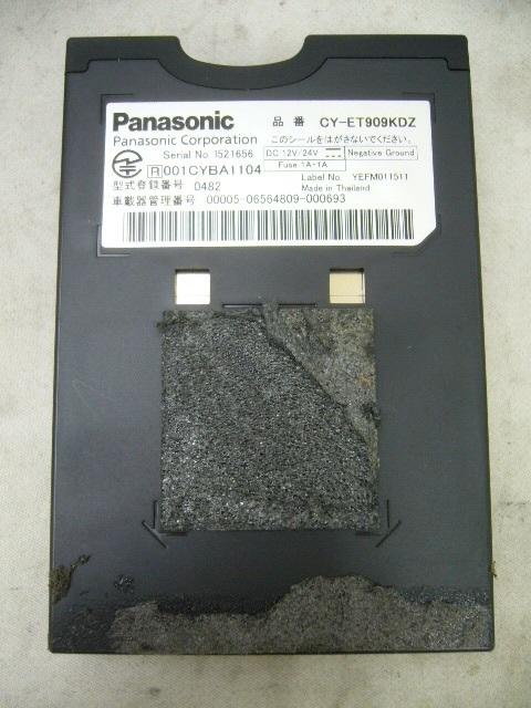 パナソニック アンテナ分離型 ETCユニット CY-ET909KDZ Panasonic ETC車載器_画像3