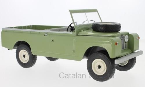 1/18 ランドローバー ピックアップ シリーズ2 オリーブ グリーン Land Rover 109 Pick Up series II RHD 1959 MCG 梱包サイズ100_画像1