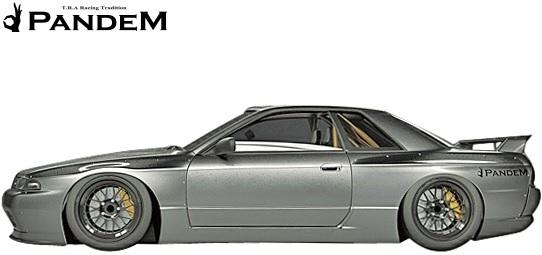 【M's】ニッサン R32 GT-R (1989y-1994y) PANDEM フロントフェンダー//FRP パンデム BNR32 スカイライン GTR ワイドフェンダー_画像3