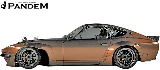 【M's】日産 フェアレディZ 240Z (S30Z) PANDEM ワイドフェンダーキット (F+R)/FRP ハチロク TRA京都 パンデム エアロ オーバーフェンダー_画像1
