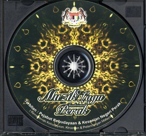 CD☆V.A. / マレーシア・ペラ州の伝統歌謡集 / MUZIK DAN LAGU TRADISIONAL PERAK / -_画像3