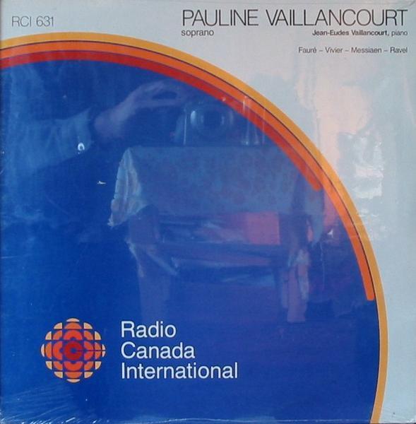 輸入盤ポーリーン・ヴァイランコート Faure 5つの歌曲&Ravel ヘブリディス諸島の歌_画像1