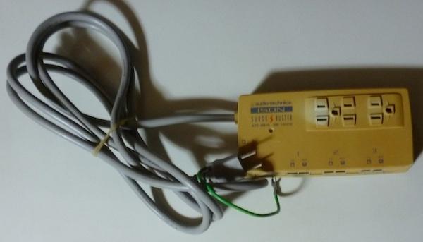8146 ISDN SURGE BUSTER audio-technica ATC-SB15 サージバスター(ISDN専用)100V専用_画像1