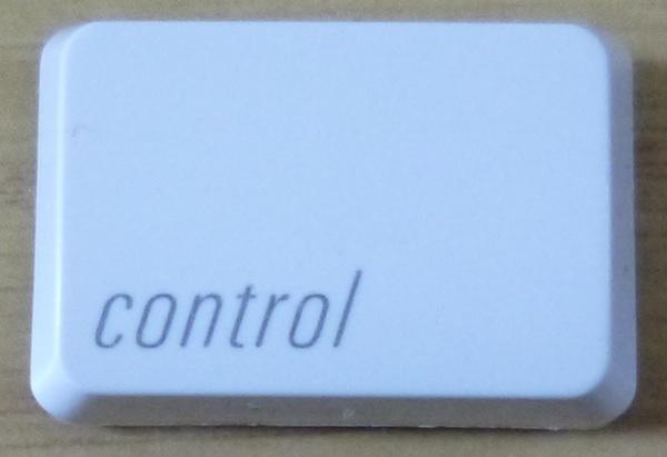 1657 100円~(税別) apple純正 Keyboard A1048 キートップ 「control」_画像1