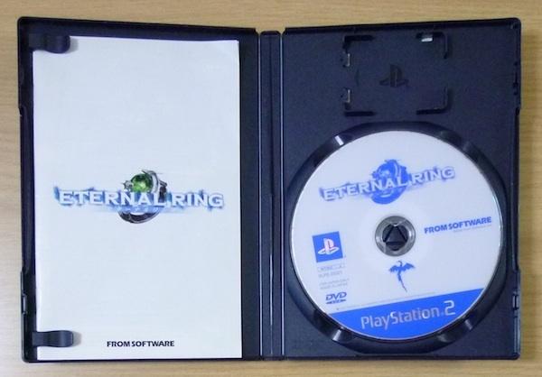 4710 100円~(税別) PlayStation2 FROM SOFTWARE エターナルリング ETERNAL RING_画像3