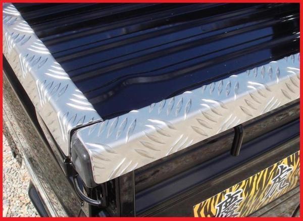 ★Kei-Zone 軽トラ荷台用 縞板デッキカバー サンバートラック S510J_画像2