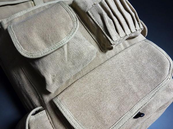 大容量 メンズ ショルダーバッグ ROTHCO ロスコ 社製 M-51エンジニアバッグ / ベージュ 新品_画像4
