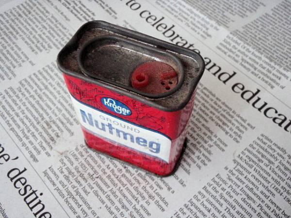 ⑫USビンテージ ティン缶/ヴィンテージ スパイス ブリキ缶/アメリカン生活雑貨・US&カントリー調インテリア小物インテリアにUS缶_画像3