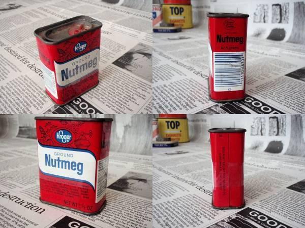 ⑫USビンテージ ティン缶/ヴィンテージ スパイス ブリキ缶/アメリカン生活雑貨・US&カントリー調インテリア小物インテリアにUS缶_画像2