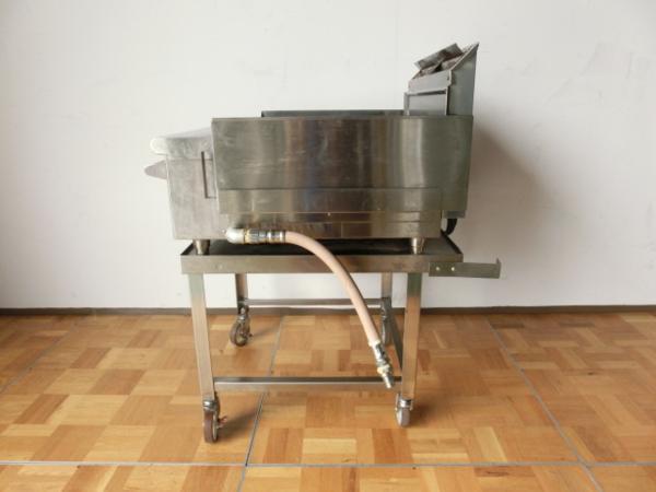 中古厨房 業務用 コメットカトウ グリドル 台付 都市ガス 鉄板焼き お好み焼き 焼きそば CGH-675G W600×D510_画像4