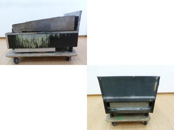 中古厨房 オザキ 都市ガス 卓上鉄板焼き グリラー OZ50-75FTK_画像4